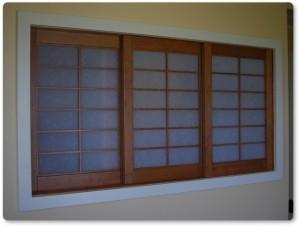 shoji window screen 3 panel