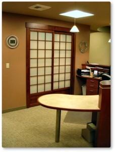 office shoji partition